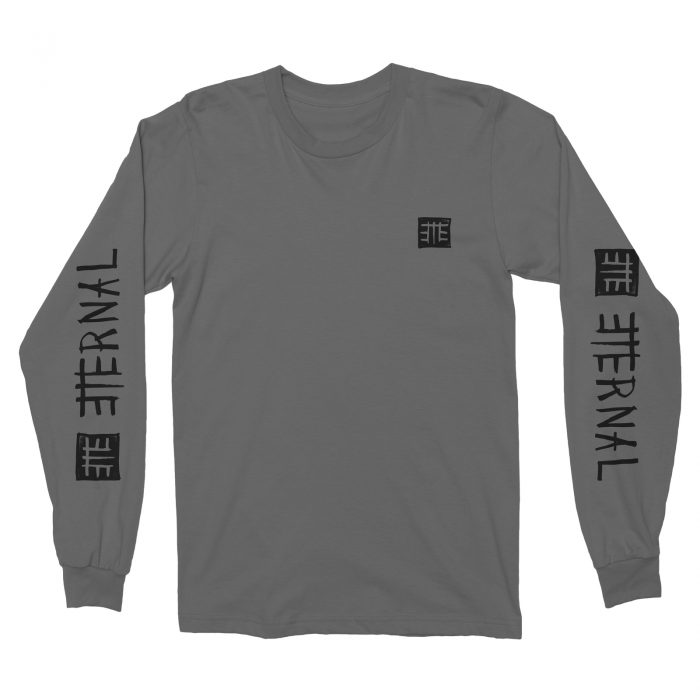 Eternal LS Tee (S) Folkmark Grey