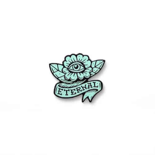 Eternal Wasteland Pin
