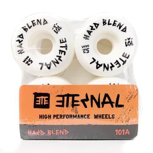 52mm Eternal Skateboard Wheels 101a Hard Blend