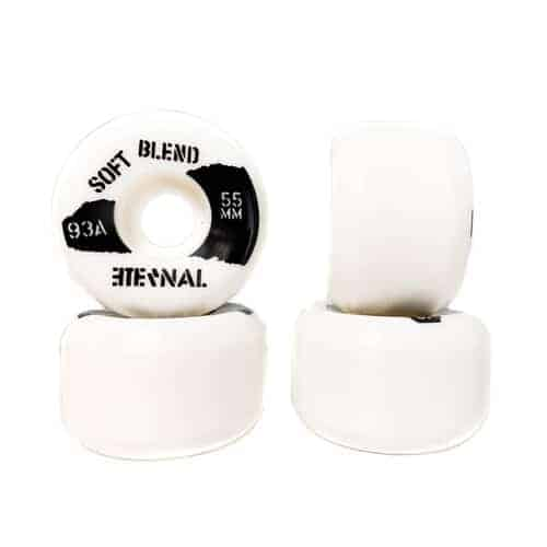 Eternal Wheels 55mm (93A) Soft Blend White