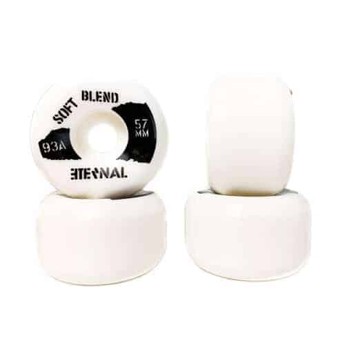 Eternal Wheels 57mm (93A) Soft Blend White